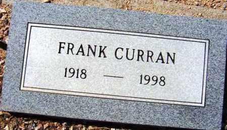 CURRAN, FRANK - Maricopa County, Arizona   FRANK CURRAN - Arizona Gravestone Photos