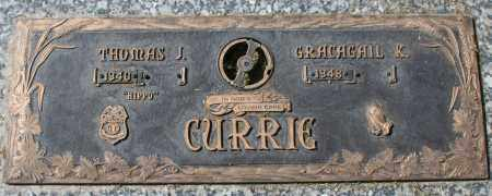 CURRIE, THOMAS J - Maricopa County, Arizona | THOMAS J CURRIE - Arizona Gravestone Photos