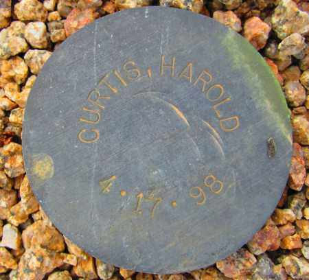 CURTIS, HAROLD - Maricopa County, Arizona   HAROLD CURTIS - Arizona Gravestone Photos