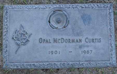 MCDORMAN CURTIS, OPAL - Maricopa County, Arizona | OPAL MCDORMAN CURTIS - Arizona Gravestone Photos