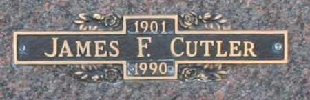 CUTLER, JAMES F - Maricopa County, Arizona | JAMES F CUTLER - Arizona Gravestone Photos