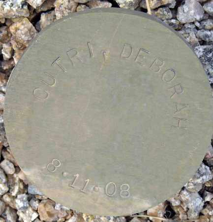 CUTRI, DEBORAH - Maricopa County, Arizona   DEBORAH CUTRI - Arizona Gravestone Photos