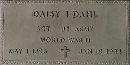 DAHL, DAISY I. - Maricopa County, Arizona | DAISY I. DAHL - Arizona Gravestone Photos