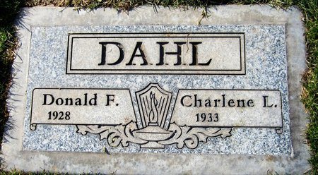 DAHL, DONALD F. - Maricopa County, Arizona | DONALD F. DAHL - Arizona Gravestone Photos