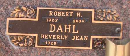 DAHL, ROBERT H - Maricopa County, Arizona   ROBERT H DAHL - Arizona Gravestone Photos