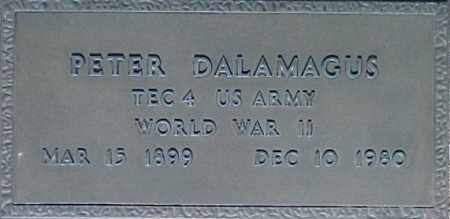 DALAMAGUS, PETER - Maricopa County, Arizona | PETER DALAMAGUS - Arizona Gravestone Photos