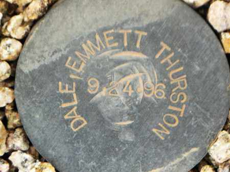 DALE, EMMETT THURSTON - Maricopa County, Arizona | EMMETT THURSTON DALE - Arizona Gravestone Photos