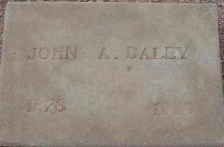 DALEY, JOHN ALFRED - Maricopa County, Arizona | JOHN ALFRED DALEY - Arizona Gravestone Photos