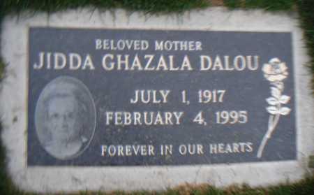 GHAZALA DALOU, JIDDA - Maricopa County, Arizona | JIDDA GHAZALA DALOU - Arizona Gravestone Photos