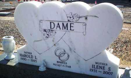 DAME, HAROLD L. - Maricopa County, Arizona | HAROLD L. DAME - Arizona Gravestone Photos
