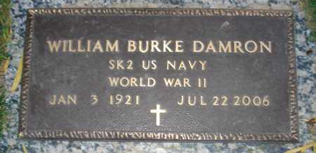DAMRON, WILLIAM BURKE - Maricopa County, Arizona | WILLIAM BURKE DAMRON - Arizona Gravestone Photos