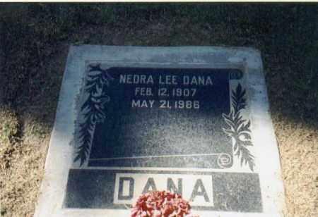 DANA, NEDRA LEE - Maricopa County, Arizona | NEDRA LEE DANA - Arizona Gravestone Photos