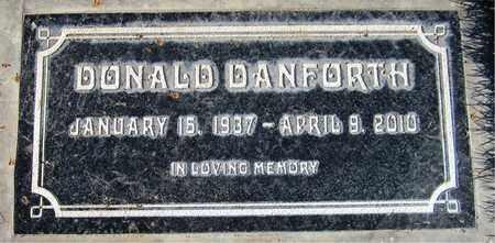 DANFORTH, DONALD - Maricopa County, Arizona   DONALD DANFORTH - Arizona Gravestone Photos