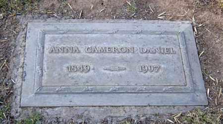 CAMERON DANIEL, ANNA - Maricopa County, Arizona | ANNA CAMERON DANIEL - Arizona Gravestone Photos