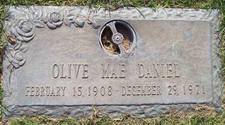 DANIEL, OLIVE MAE - Maricopa County, Arizona   OLIVE MAE DANIEL - Arizona Gravestone Photos