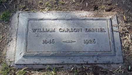 DANIEL, WILLIAM CARSON - Maricopa County, Arizona | WILLIAM CARSON DANIEL - Arizona Gravestone Photos