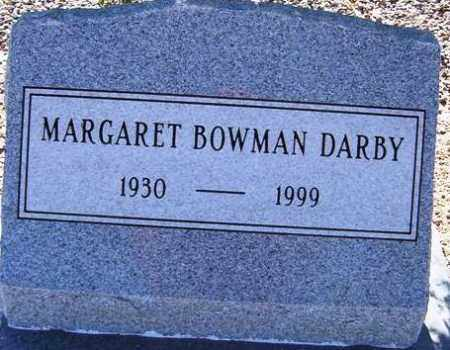 DARBY, MARGARET - Maricopa County, Arizona | MARGARET DARBY - Arizona Gravestone Photos