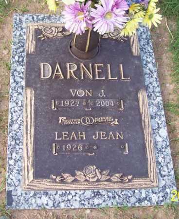 DARNELL, VON J. - Maricopa County, Arizona | VON J. DARNELL - Arizona Gravestone Photos