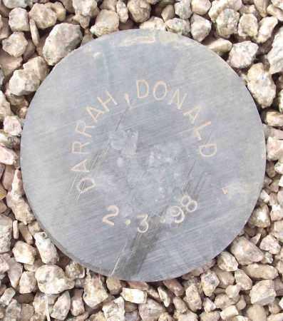 DARRAH, DONALD - Maricopa County, Arizona | DONALD DARRAH - Arizona Gravestone Photos