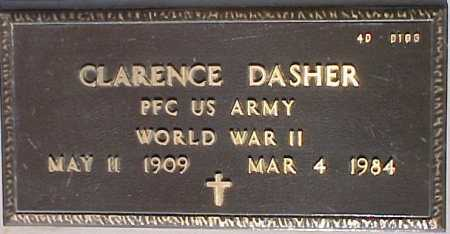 DASHER, CLARENCE - Maricopa County, Arizona | CLARENCE DASHER - Arizona Gravestone Photos