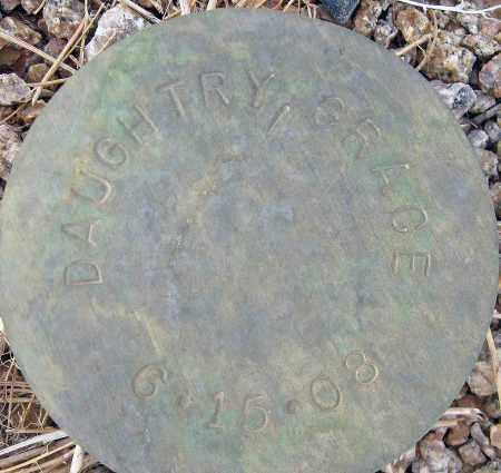 DAUGHTRY, GRACE - Maricopa County, Arizona | GRACE DAUGHTRY - Arizona Gravestone Photos