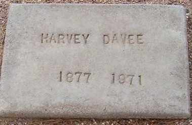 DAVEE, HARVEY - Maricopa County, Arizona | HARVEY DAVEE - Arizona Gravestone Photos