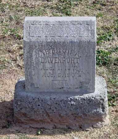 DAVENPORT, ARTHUR A. - Maricopa County, Arizona   ARTHUR A. DAVENPORT - Arizona Gravestone Photos