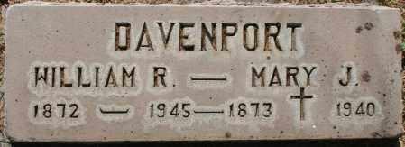 DAVENPORT, WILLIAM R. - Maricopa County, Arizona | WILLIAM R. DAVENPORT - Arizona Gravestone Photos