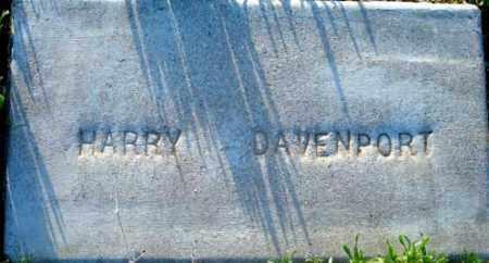 DAVENPORT, WILLIAM HENRY (HARRY) - Maricopa County, Arizona | WILLIAM HENRY (HARRY) DAVENPORT - Arizona Gravestone Photos
