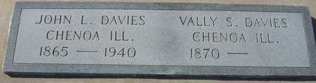 DAVIES, VALLY S. - Maricopa County, Arizona | VALLY S. DAVIES - Arizona Gravestone Photos