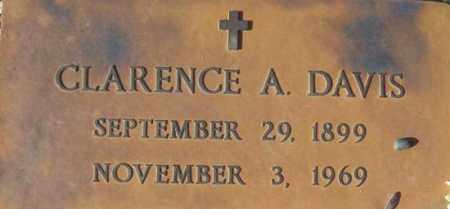 DAVIS, CLARENCE A. - Maricopa County, Arizona | CLARENCE A. DAVIS - Arizona Gravestone Photos