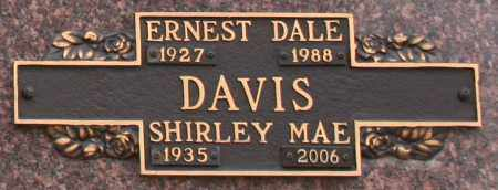 DAVIS, SHIRLEY MAE - Maricopa County, Arizona | SHIRLEY MAE DAVIS - Arizona Gravestone Photos