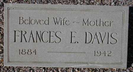 BAKER DAVIS, FRANCES E. - Maricopa County, Arizona | FRANCES E. BAKER DAVIS - Arizona Gravestone Photos