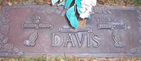 DAVIS, THELMA N. - Maricopa County, Arizona | THELMA N. DAVIS - Arizona Gravestone Photos