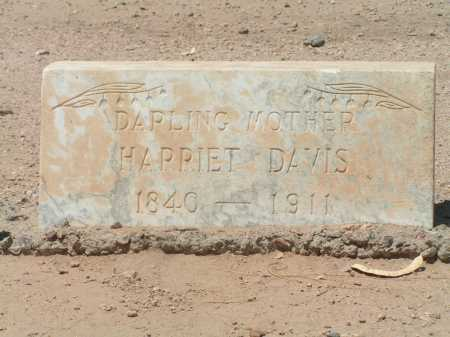 DAVIS, HARRIET - Maricopa County, Arizona | HARRIET DAVIS - Arizona Gravestone Photos