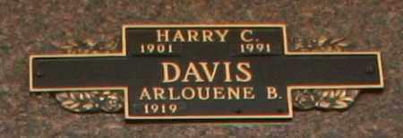 DAVIS, HARRY C - Maricopa County, Arizona   HARRY C DAVIS - Arizona Gravestone Photos