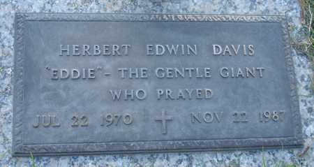 DAVIS, HERBERT EDWIN - Maricopa County, Arizona | HERBERT EDWIN DAVIS - Arizona Gravestone Photos