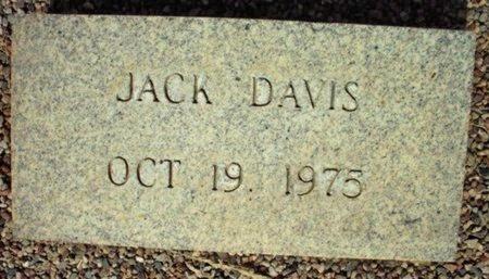 DAVIS, JACK - Maricopa County, Arizona | JACK DAVIS - Arizona Gravestone Photos