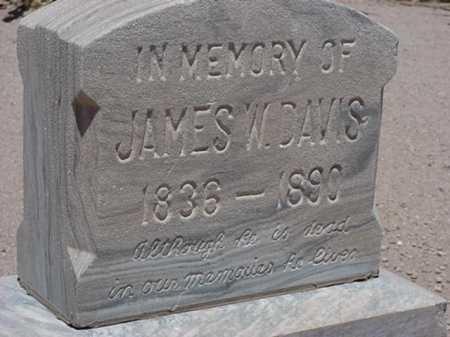DAVIS, JAMES WILSON - Maricopa County, Arizona | JAMES WILSON DAVIS - Arizona Gravestone Photos