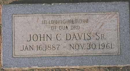 DAVIS, JOHN C. - Maricopa County, Arizona | JOHN C. DAVIS - Arizona Gravestone Photos