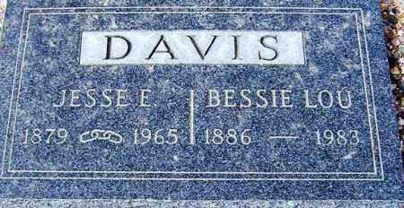 DAVIS, BESSIE LOU - Maricopa County, Arizona | BESSIE LOU DAVIS - Arizona Gravestone Photos