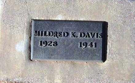 DAVIS, MILDRED KATHERINE - Maricopa County, Arizona | MILDRED KATHERINE DAVIS - Arizona Gravestone Photos