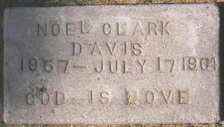 DAVIS, NOEL CLARK - Maricopa County, Arizona   NOEL CLARK DAVIS - Arizona Gravestone Photos