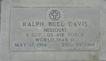 DAVIS, RALPH BUEL - Maricopa County, Arizona   RALPH BUEL DAVIS - Arizona Gravestone Photos