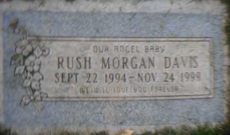 DAVIS, RUSH MORGAN - Maricopa County, Arizona   RUSH MORGAN DAVIS - Arizona Gravestone Photos