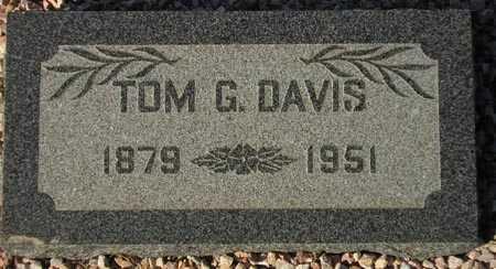 DAVIS, TOM G. - Maricopa County, Arizona | TOM G. DAVIS - Arizona Gravestone Photos