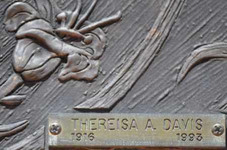 DAVIS, THEREISA A. - Maricopa County, Arizona | THEREISA A. DAVIS - Arizona Gravestone Photos