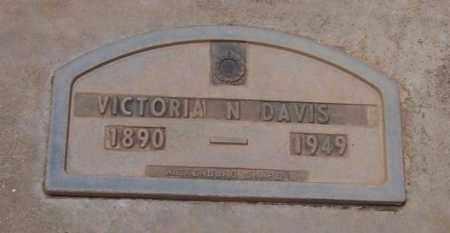 DAVIS, VICTORIA MARCISRES - Maricopa County, Arizona   VICTORIA MARCISRES DAVIS - Arizona Gravestone Photos