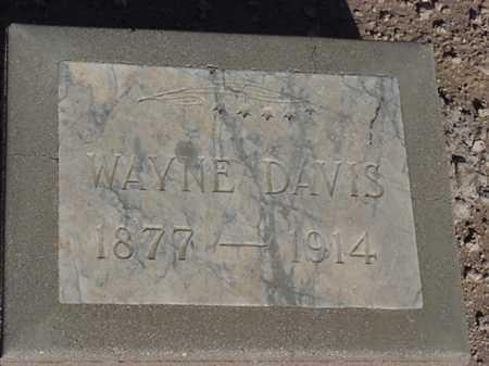 DAVIS, WAYNE - Maricopa County, Arizona | WAYNE DAVIS - Arizona Gravestone Photos