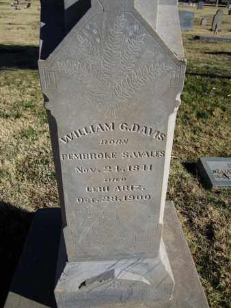 DAVIS, WILLIAM GEORGE - Maricopa County, Arizona | WILLIAM GEORGE DAVIS - Arizona Gravestone Photos